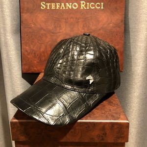 HOT Stefano Ricci Crocodile Baseball Hat- Size-S